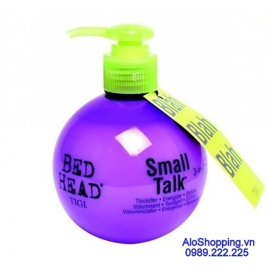 Wax tạo kiểu tóc uốn Tigi Bed Head Small Talk 3in1 200ml