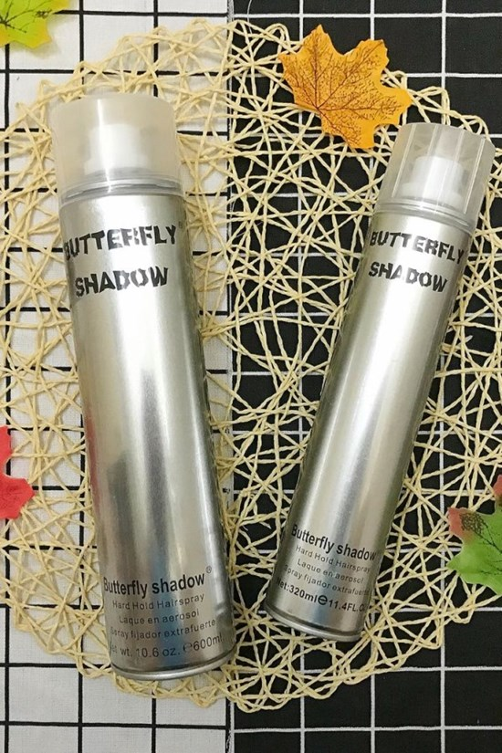 Gôm xịt tóc Butterfly Shadow - 600ml